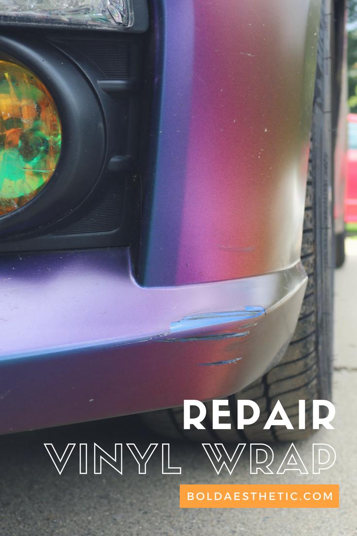 Repair Vinyl Wrap