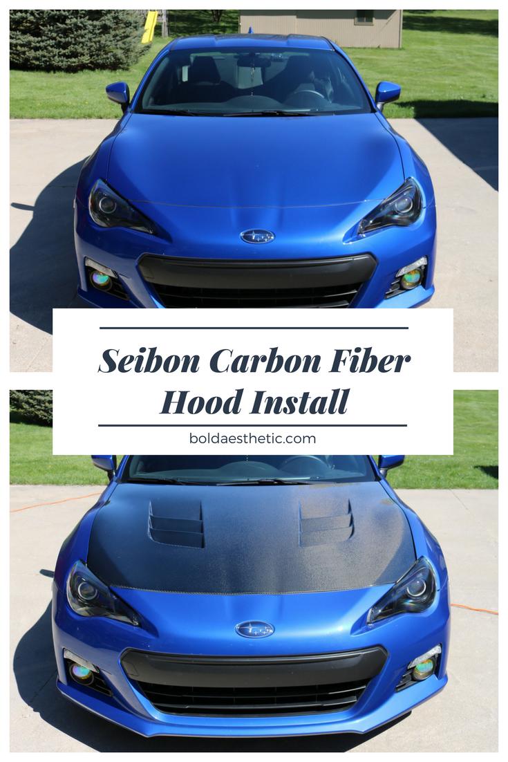 How to install seibon carbon fiber hood