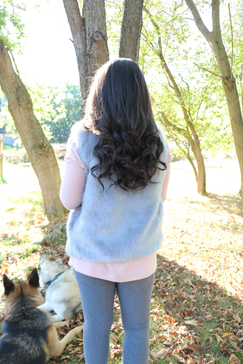 Topshop Claire Fur Gilet Vest from Trunk Club Review #5