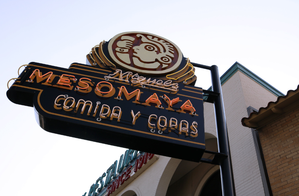 Authentic Mexican food at Mesomaya