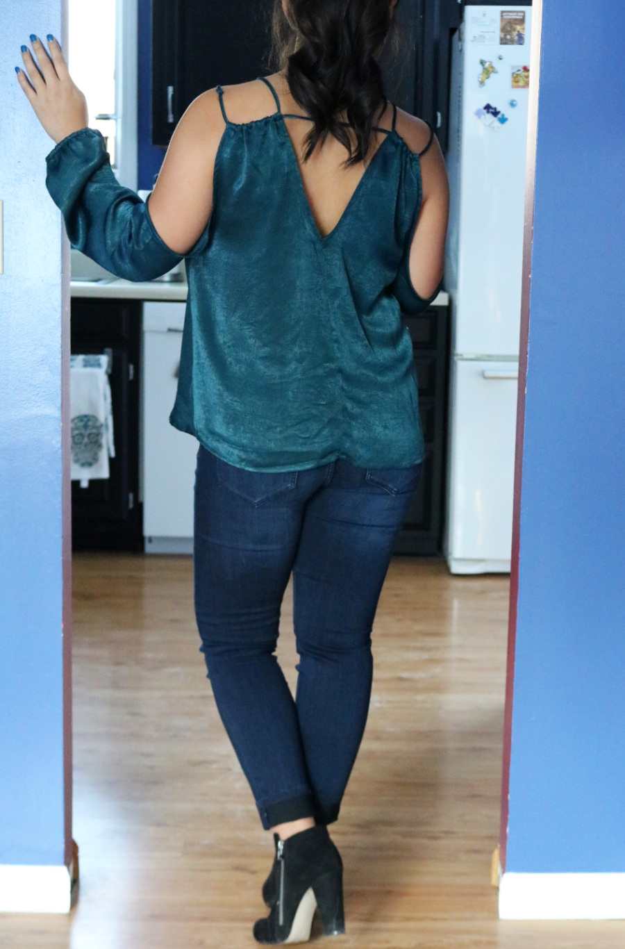 Casual Wear Stitch Fix Review - En Elly Blouse