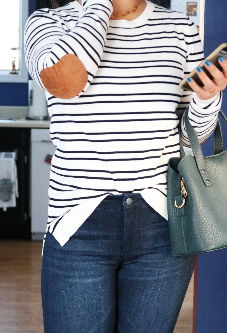 Casual Wear Stitch Fix Review - Renee C Striped Pullover
