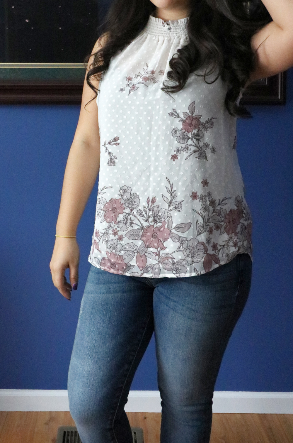Floral Blouse from Stitch Fix