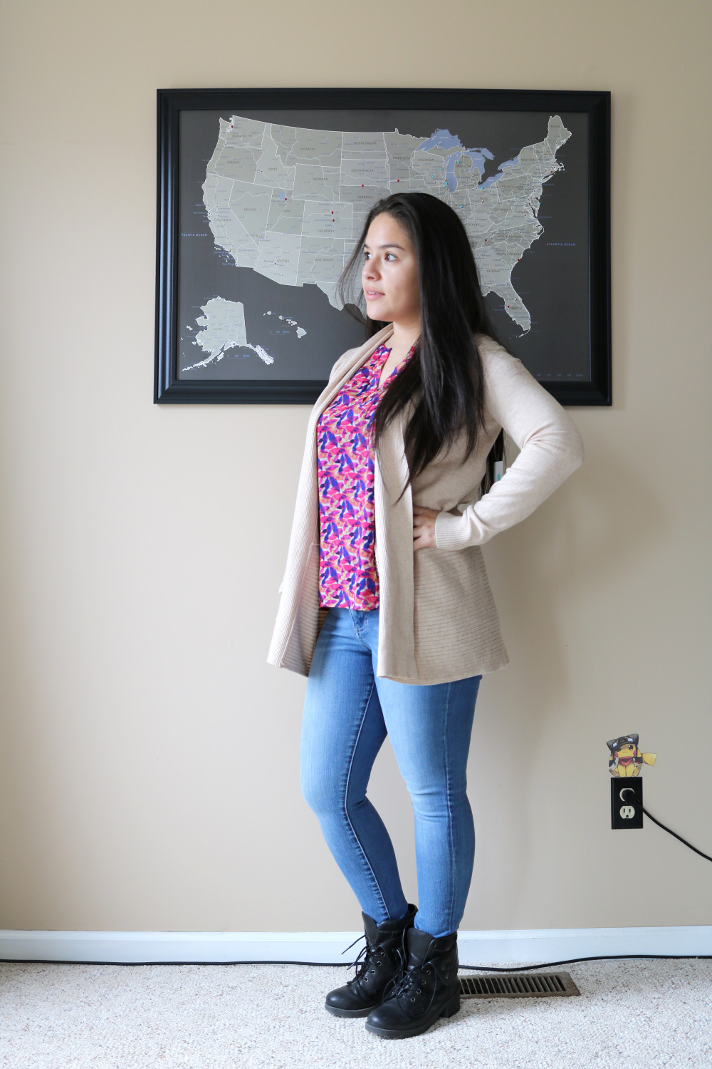 Pink Clover cardigan from Stitch Fix (Stitch Fix Review 22)