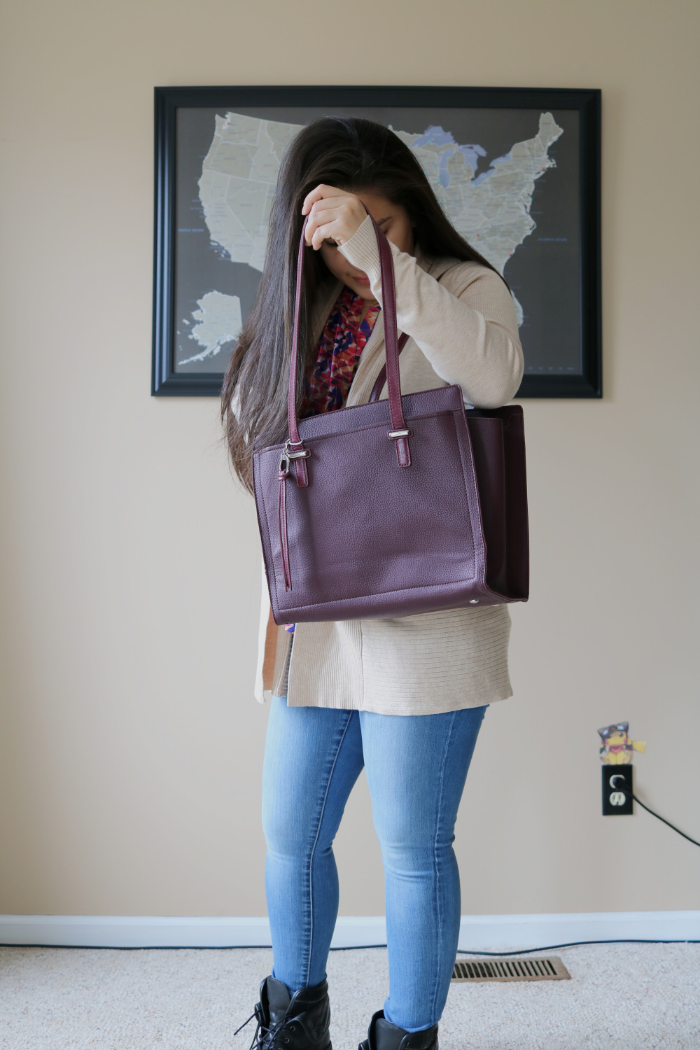 Urban Expressions Eunice tote from Stitch Fix (Stitch Fix Review 22)